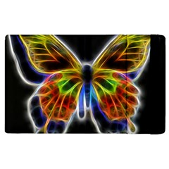 Fractal Butterfly Apple Ipad 3/4 Flip Case by Simbadda