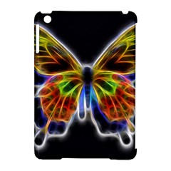 Fractal Butterfly Apple Ipad Mini Hardshell Case (compatible With Smart Cover) by Simbadda
