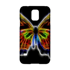 Fractal Butterfly Samsung Galaxy S5 Hardshell Case  by Simbadda