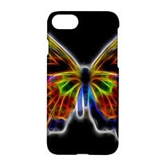 Fractal Butterfly Apple Iphone 7 Hardshell Case by Simbadda