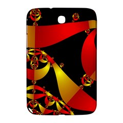 Fractal Ribbons Samsung Galaxy Note 8 0 N5100 Hardshell Case  by Simbadda