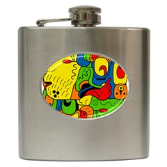 Mexico Hip Flask (6 Oz) by Valentinaart