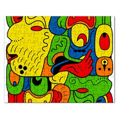 Mexico Rectangular Jigsaw Puzzl by Valentinaart