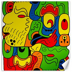 Mexico Canvas 20  X 20   by Valentinaart