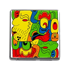 Mexico Memory Card Reader (square) by Valentinaart