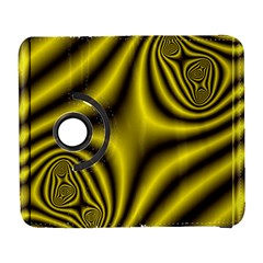 Yellow Fractal Galaxy S3 (flip/folio) by Simbadda