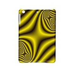 Yellow Fractal Ipad Mini 2 Hardshell Cases by Simbadda