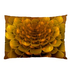 Yellow Flower Pillow Case by Simbadda