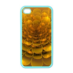 Yellow Flower Apple Iphone 4 Case (color) by Simbadda
