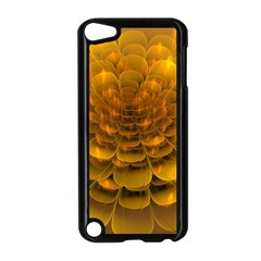 Yellow Flower Apple Ipod Touch 5 Case (black) by Simbadda
