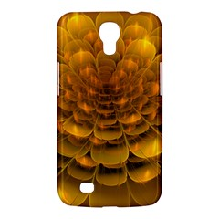 Yellow Flower Samsung Galaxy Mega 6 3  I9200 Hardshell Case by Simbadda