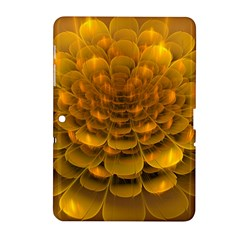 Yellow Flower Samsung Galaxy Tab 2 (10 1 ) P5100 Hardshell Case