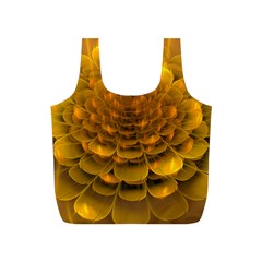 Yellow Flower Full Print Recycle Bags (s)