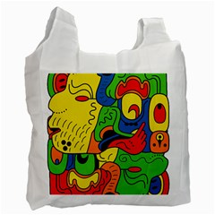 Mexico Recycle Bag (one Side) by Valentinaart