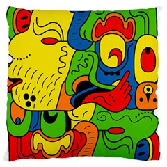 Mexico Standard Flano Cushion Case (one Side) by Valentinaart