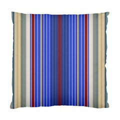 Colorful Stripes Standard Cushion Case (one Side) by Simbadda