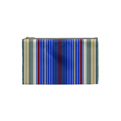 Colorful Stripes Cosmetic Bag (small)