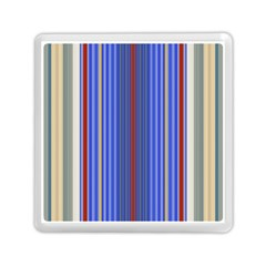 Colorful Stripes Memory Card Reader (square)