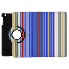 Colorful Stripes Apple Ipad Mini Flip 360 Case by Simbadda
