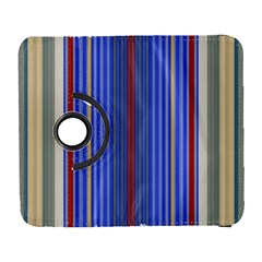 Colorful Stripes Galaxy S3 (flip/folio) by Simbadda
