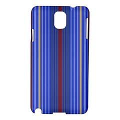 Colorful Stripes Samsung Galaxy Note 3 N9005 Hardshell Case by Simbadda