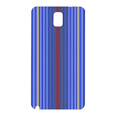 Colorful Stripes Samsung Galaxy Note 3 N9005 Hardshell Back Case by Simbadda