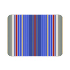 Colorful Stripes Double Sided Flano Blanket (mini)  by Simbadda
