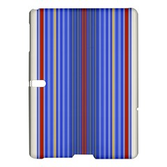 Colorful Stripes Samsung Galaxy Tab S (10 5 ) Hardshell Case  by Simbadda