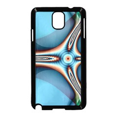 Fractal Beauty Samsung Galaxy Note 3 Neo Hardshell Case (black) by Simbadda