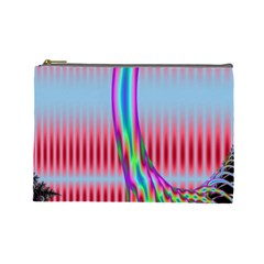 Fractal Tree Cosmetic Bag (large)  by Simbadda