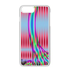 Fractal Tree Apple Iphone 7 Plus White Seamless Case