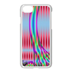 Fractal Tree Apple Iphone 7 Seamless Case (white) by Simbadda