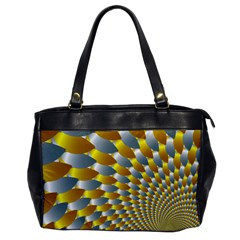 Fractal Spiral Office Handbags by Simbadda