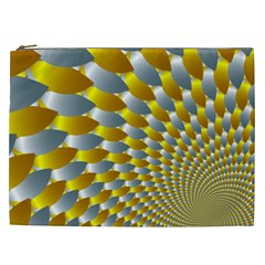 Fractal Spiral Cosmetic Bag (xxl)  by Simbadda