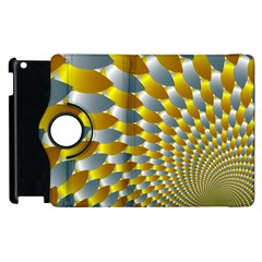 Fractal Spiral Apple Ipad 3/4 Flip 360 Case by Simbadda