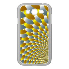Fractal Spiral Samsung Galaxy Grand Duos I9082 Case (white) by Simbadda