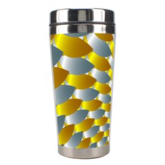 Fractal Spiral Stainless Steel Travel Tumblers by Simbadda