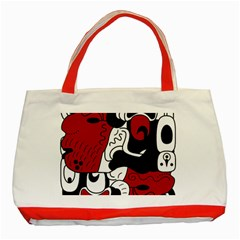 Mexico Classic Tote Bag (red) by Valentinaart