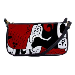 Mexico Shoulder Clutch Bags by Valentinaart