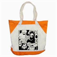 Mexico Accent Tote Bag by Valentinaart