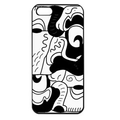 Mexico Apple Iphone 5 Seamless Case (black)