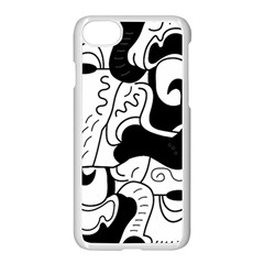 Mexico Apple Iphone 7 Seamless Case (white) by Valentinaart