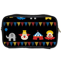 Circus  Toiletries Bags 2 Side by Valentinaart