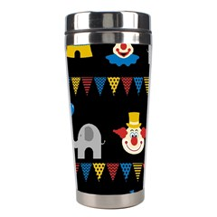 Circus  Stainless Steel Travel Tumblers by Valentinaart