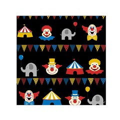 Circus  Small Satin Scarf (square) by Valentinaart