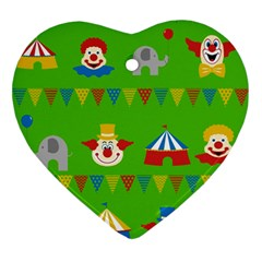 Circus Ornament (Heart)