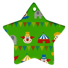 Circus Ornament (Star)