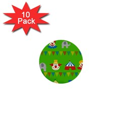 Circus 1  Mini Buttons (10 pack)