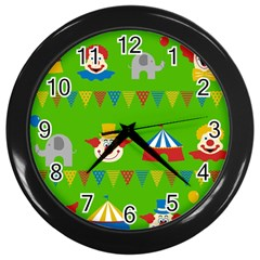 Circus Wall Clocks (Black)