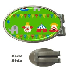Circus Money Clips (oval)